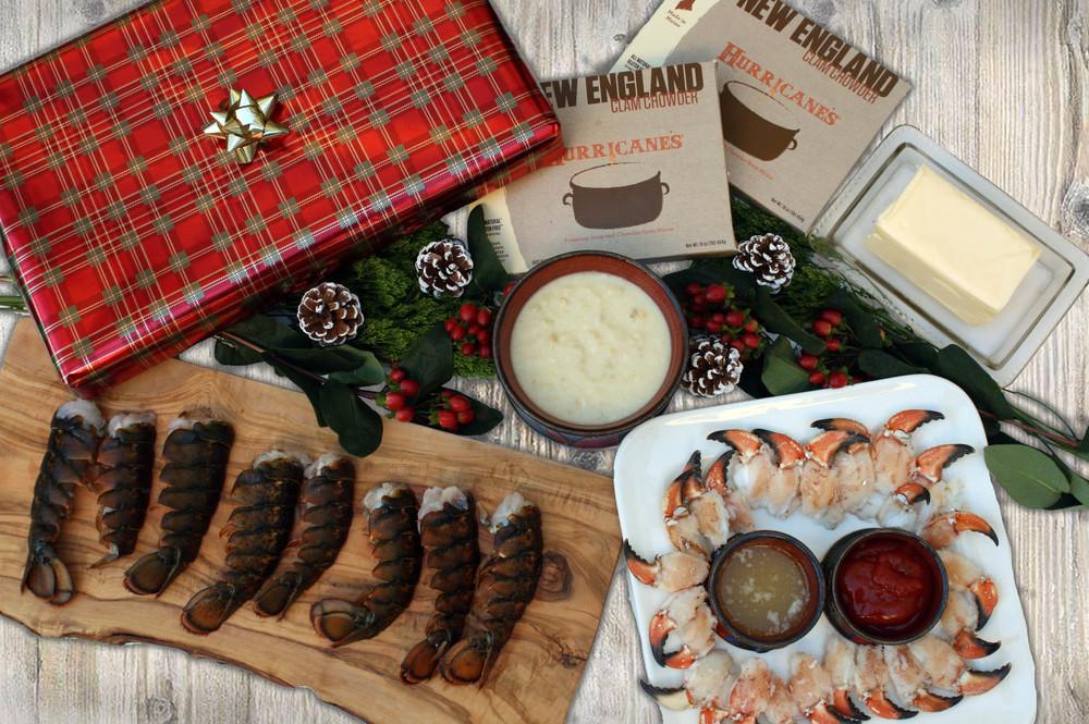 Taste of Maine Seafood Sampler