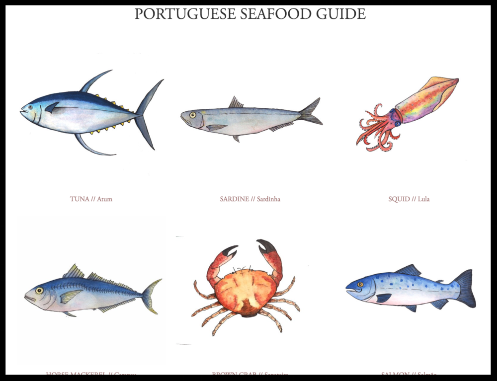 Find the Portuguese Seafood Guide Here...  - Bom Apetite!