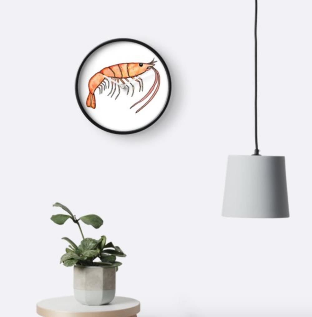 Prawn clock