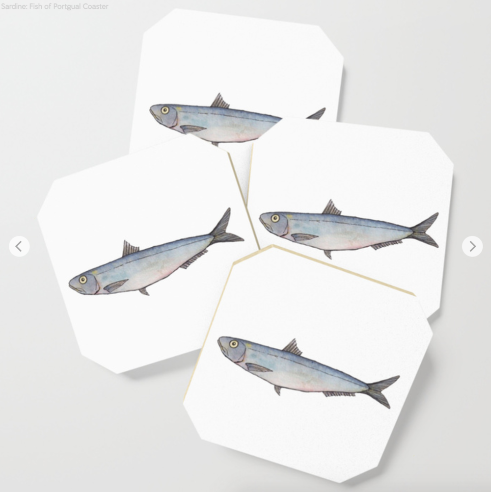 Sardine Coasters