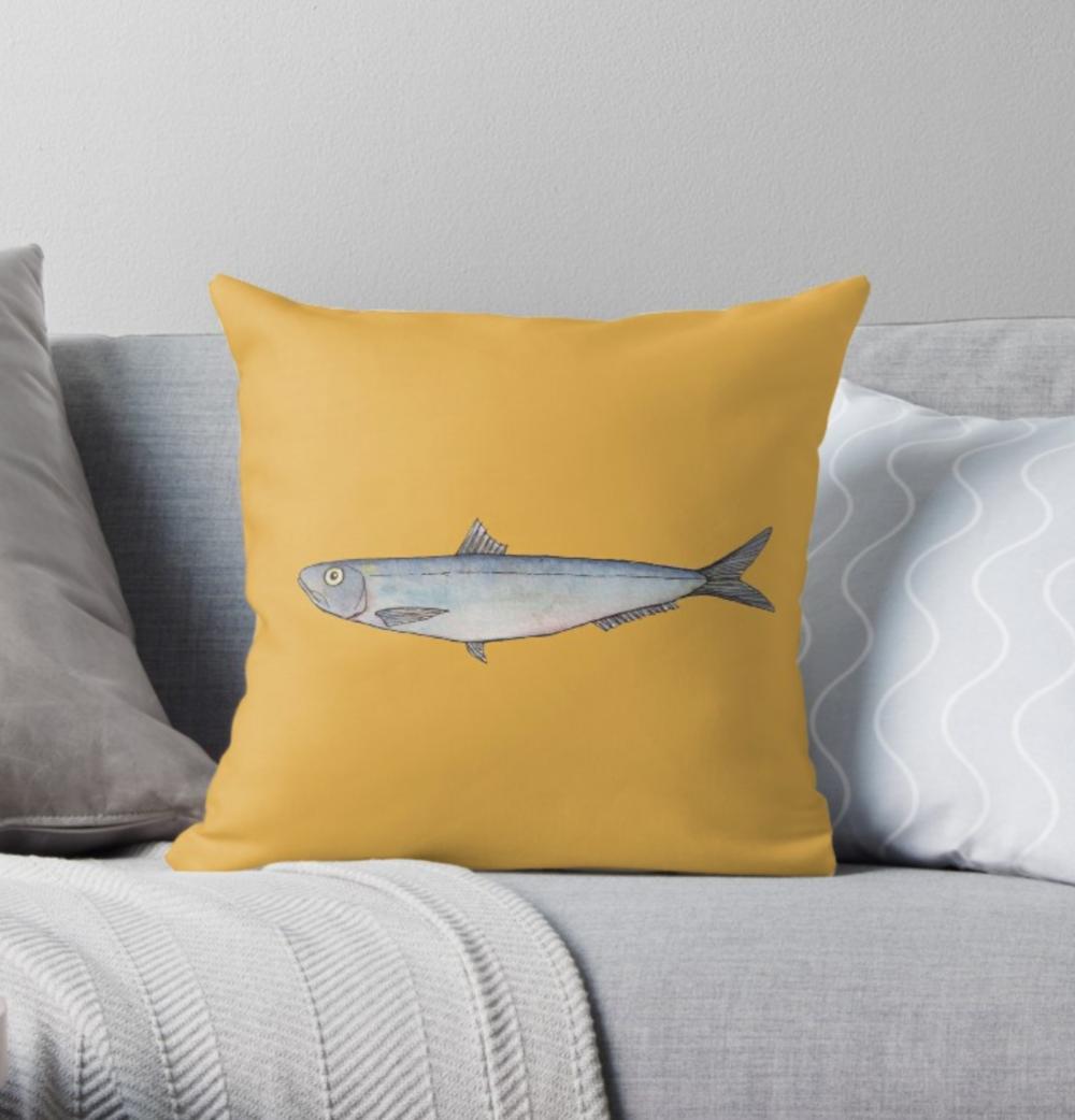 Sardine Cushion