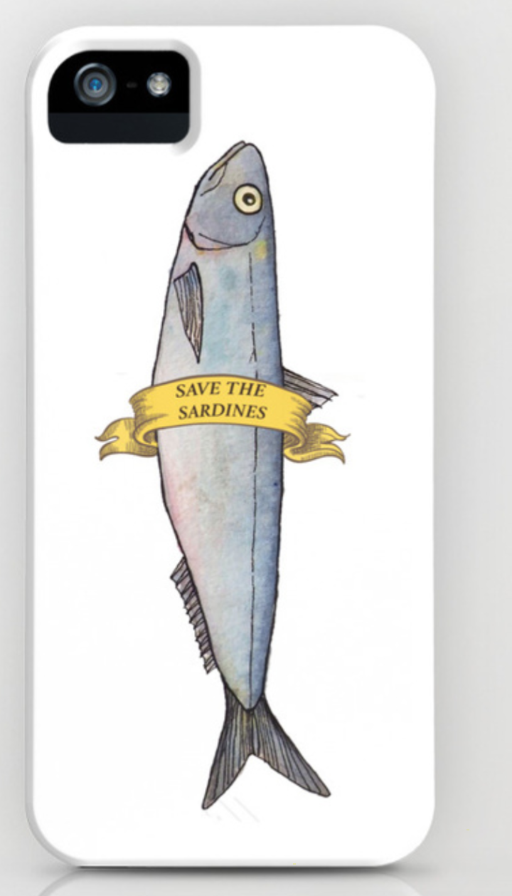 Save the sardine case