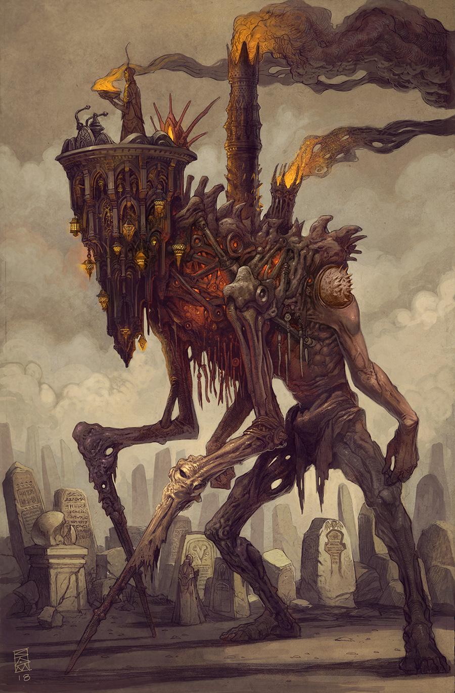 The Grand Bonewalker