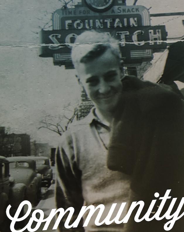 James R. Hawkinson, Foster Ave. Chicago, IL (ca.1948)