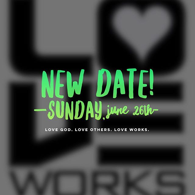 Every year we take a Sunday and invest our time together serving our community and wrap it up with a big meal together - it's a highlight of our year. Will you join us? New date: June 26th. If you did not register for the May 1 date (which was rained out) and would like to serve, let us know :) Link in bio. Thanks!