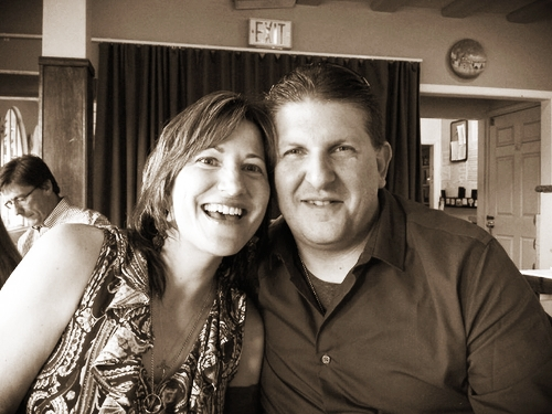 My husband Eric & me. Photo by my brother, Stephen Witherby