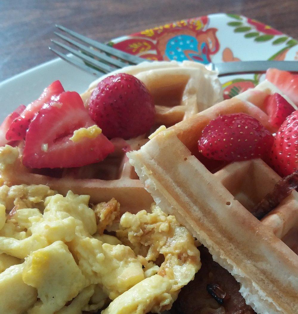 Emunah's Waffle Breakfast