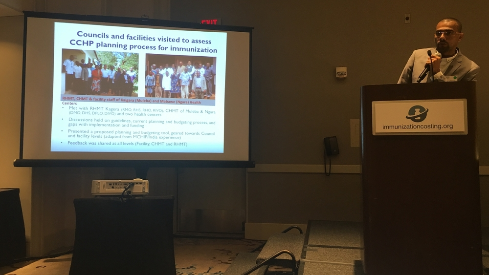 Nassor S. Mohamed - Using Reaching Every Child (REC) micro-planning tool to estimate immunization budgets in Tanzania