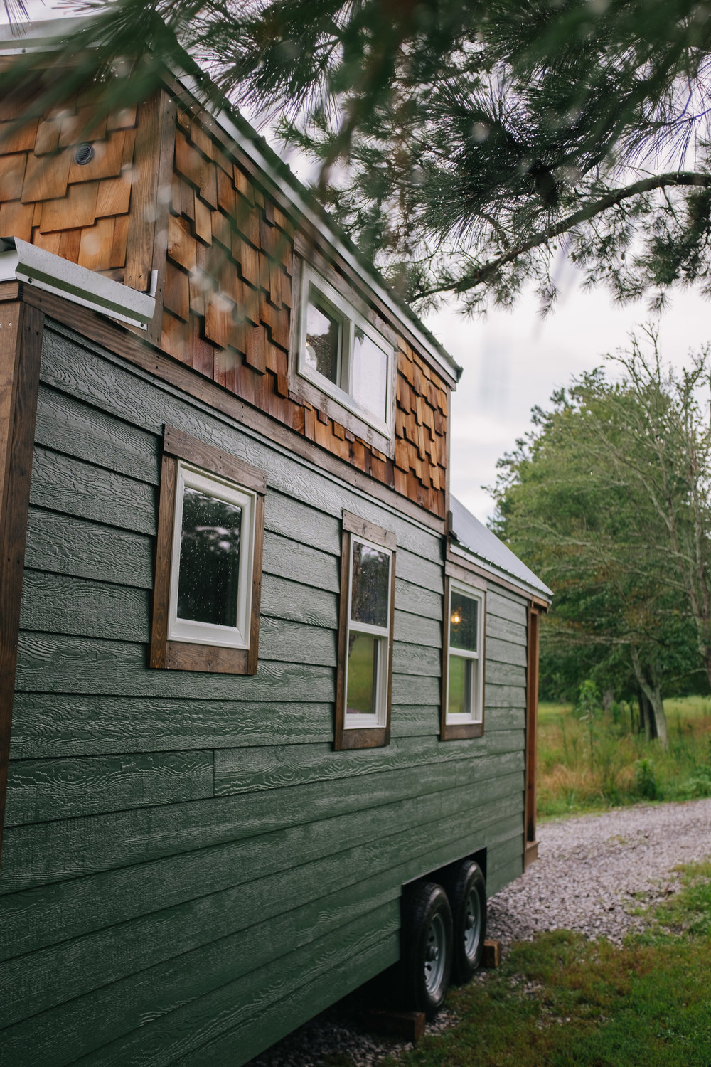 The Acadia by Wind River Tiny Homes - tiny house, craftsman home, cedar shake, rustic