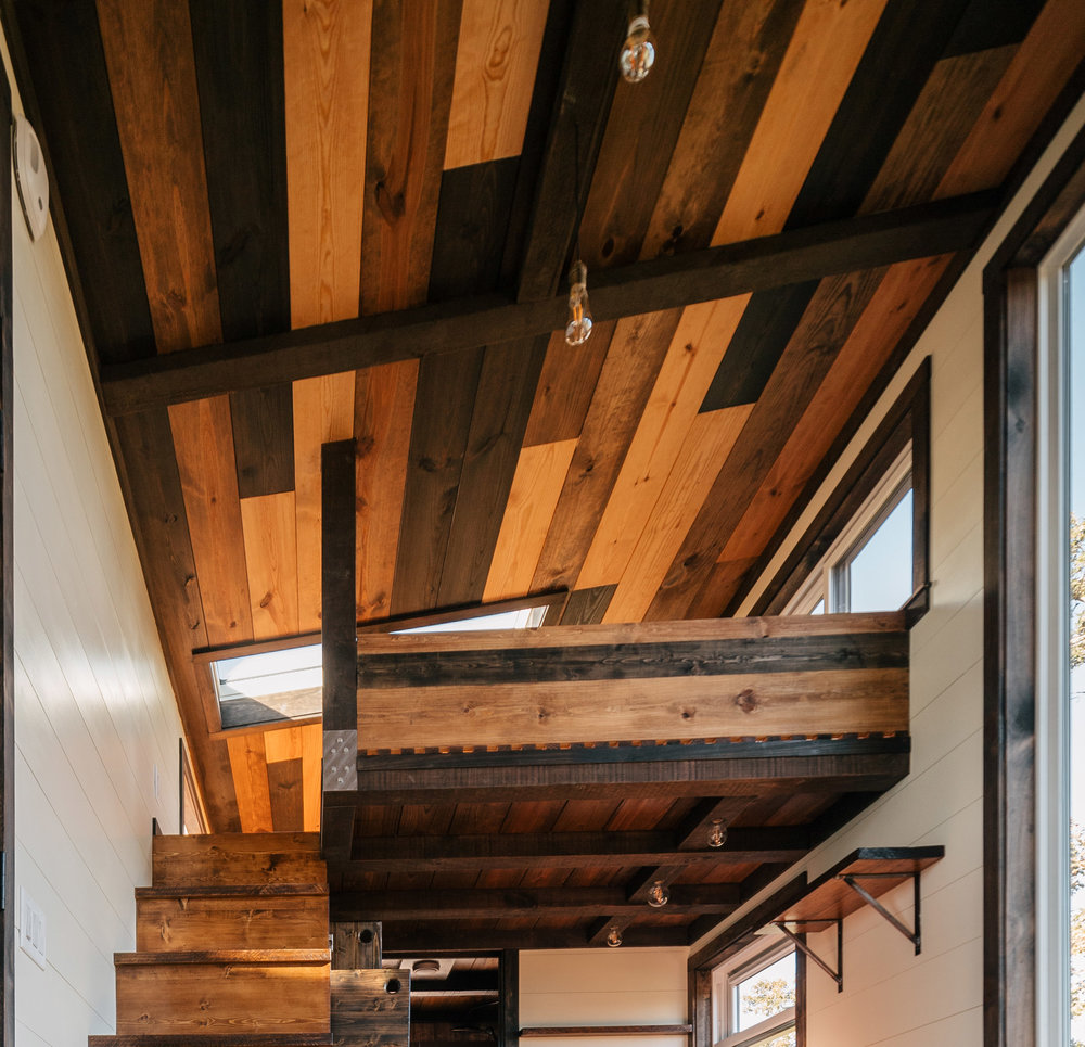 #9 - Give your ceiling some love. There's a blank canvas up there. Let us put unique custom carpentry on your ceiling. Make your home a work of art. Accents like this create a story for your house too and give it more character.