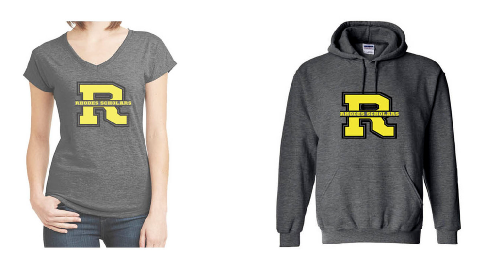 Some sizes of Ladies V-necks and Youth Pullovers have been sold out, but good news, they have been reordered and will be arriving soon! Make sure to subscribe or follow Rhodes PEP Club on  Facebook  and  Instagram  (new) so you don't miss the announcement.