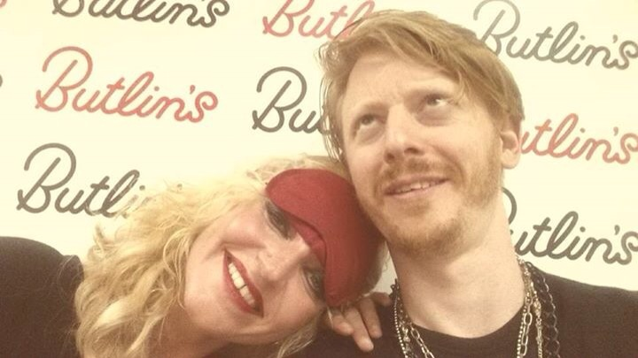 Me and Madge (Elly Jarmain) at Butlins Bognor 07/06/15