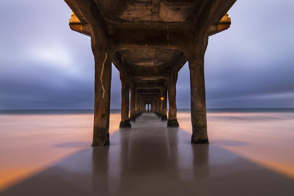 Manahattan Beach Pier, CA