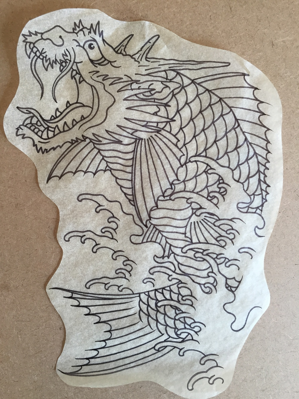 Dragon-Koi