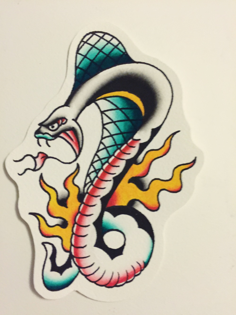 COBRA(painting comes with tattoo)