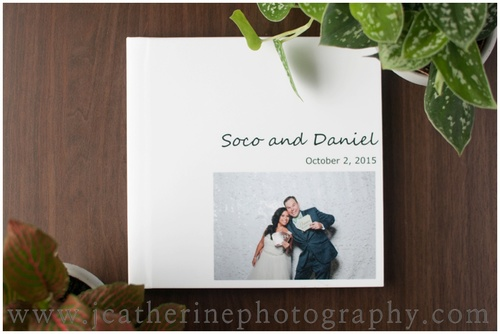 Photo Booth Wedding Album