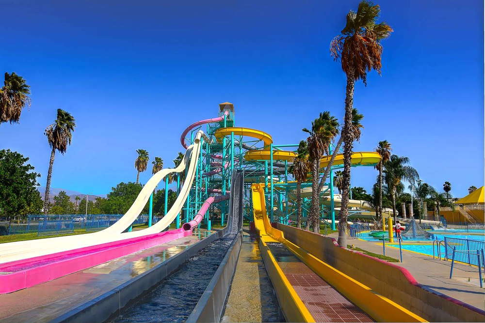 The  Tower of Kings  is the thrill-seeker's ultimate oasis. The tallest free-standing waterslide tower in the country, this structure houses  eight  unique waterslides -- from family raft rides to gripping body flumes. Looking for a challenge? Ride all 8!
