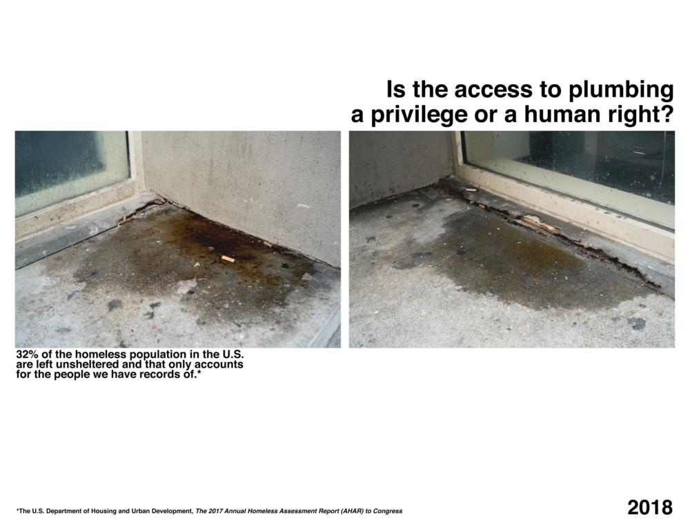 Is the access to plumbing a privilege or a human right?