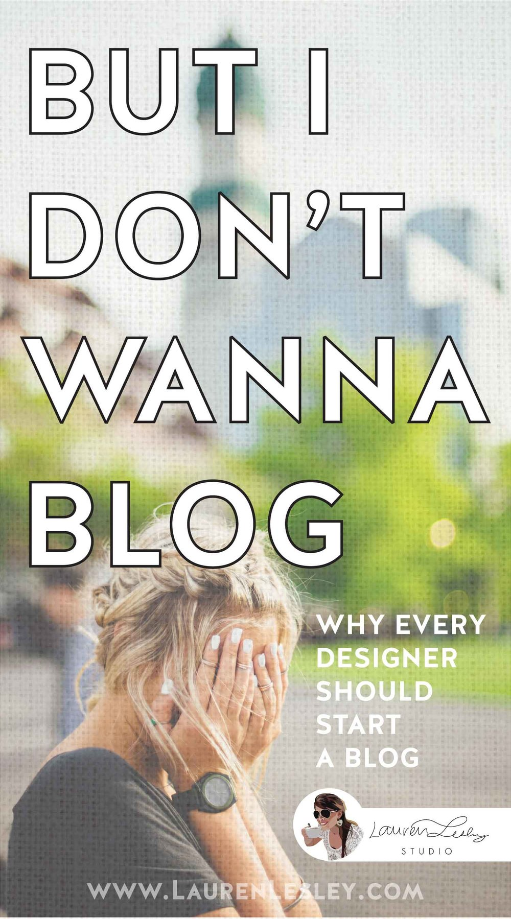 But I Don't Wanna Blog! - Designers are different.  While most people think that bloggers lead a glamorous lifestyle popping around town drinking a vanilla latté, laughing with their friends, and dabbling around on their beautiful Mac for a few hours a day...  Designers understand how much work goes into it.We get it.  Designers spend hours in the office researching for photoshoots:  trends, the right colors, which props are perfect yet fit the budget - down to every last detail!  We've lugged around a car full of crap, multiple changes of outfits, make up supplies, and soo many 'just-in-case' props, trying to snag the perfect location with the perfect model in the right lighting and so on.  It's definitely fun, but it can also be grueling. On top of that, designers are used to being behind-the-scenes with the photographer giving direction and making their vision come to life.  We don't want to be the center of attention!But we love to create and obviously we want the whole wide world to know about our work.  So do we realllllly have to blog?