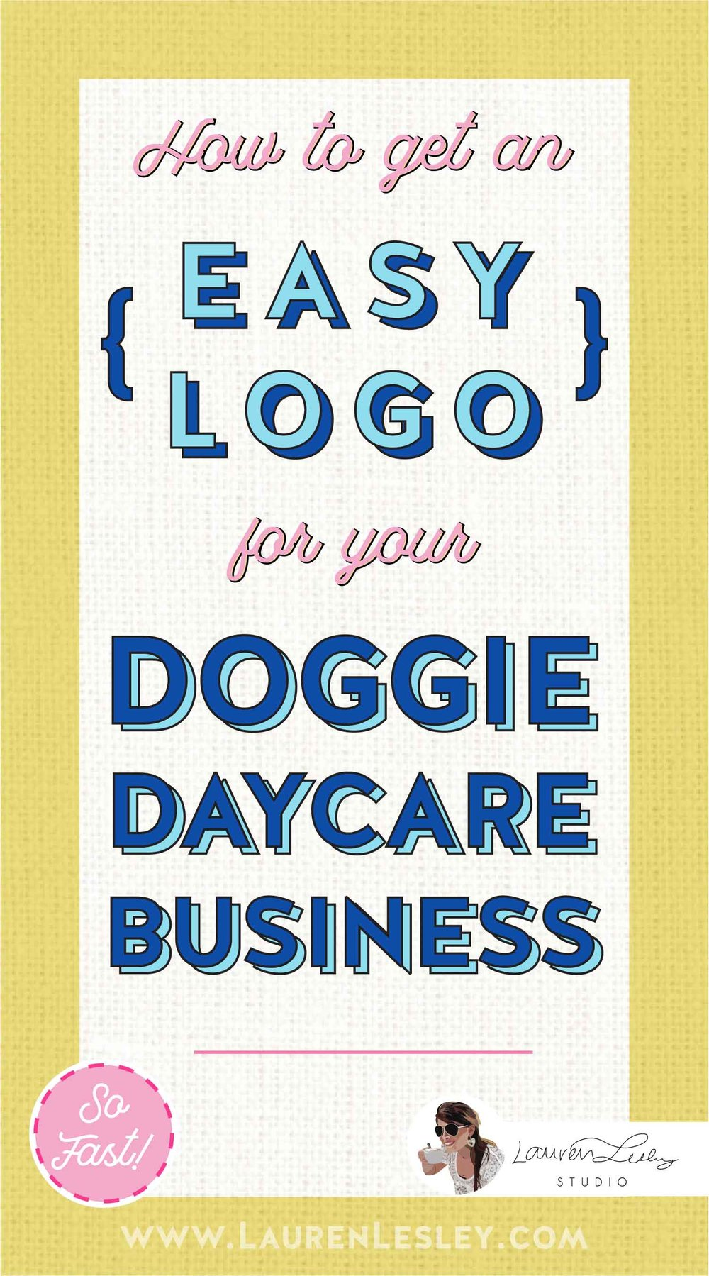 Get a Custom Doggie Daycare Logo for your Business