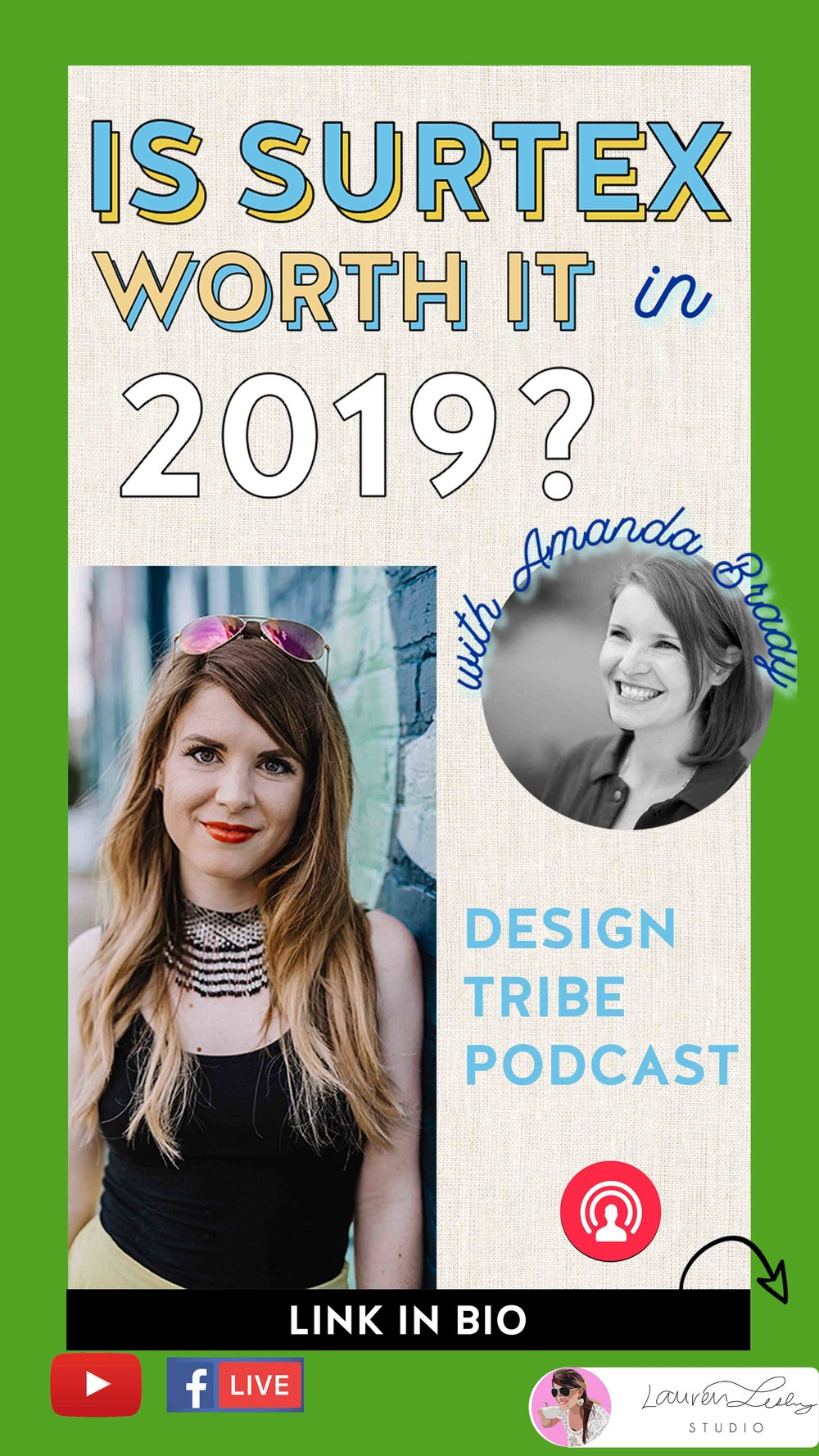 Is Surtex Worth it in 2019 - with Amanda Brady of Green Hound Press