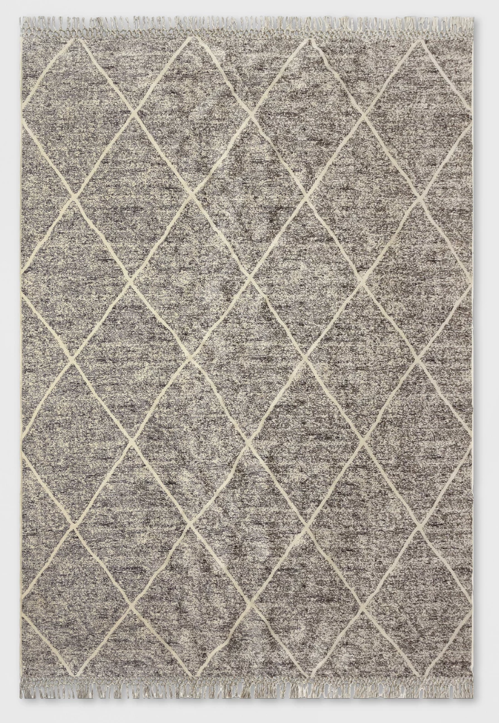 Desert Hatch Outdoor Rug Gray - Opalhouse™