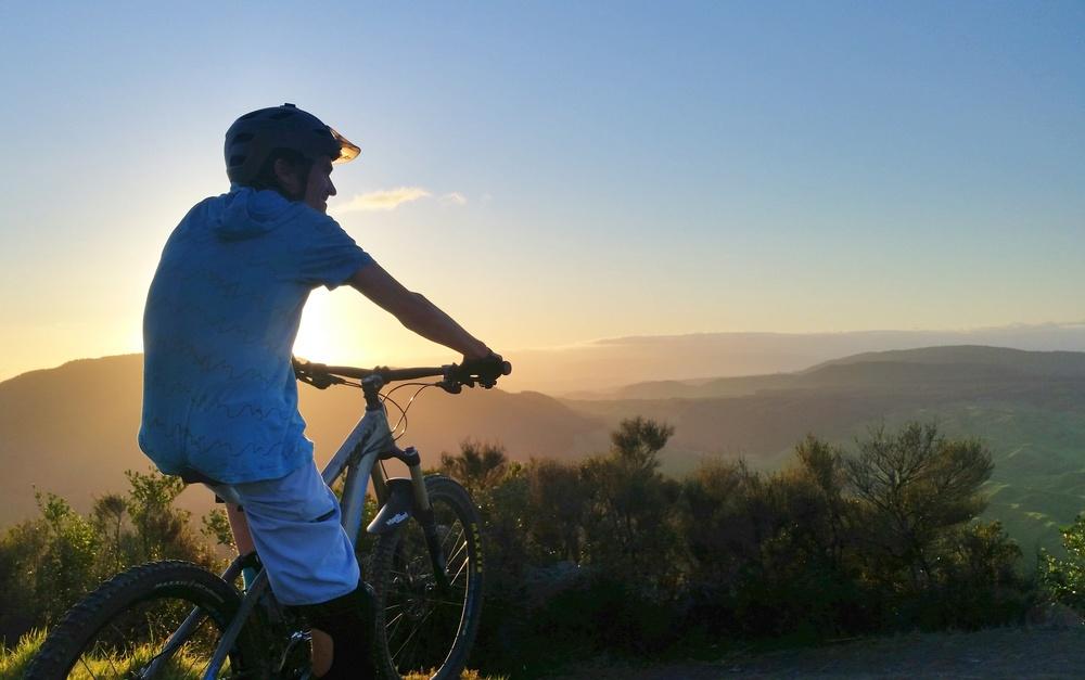 Rainbow Mountain. Mountain biking Rotorua