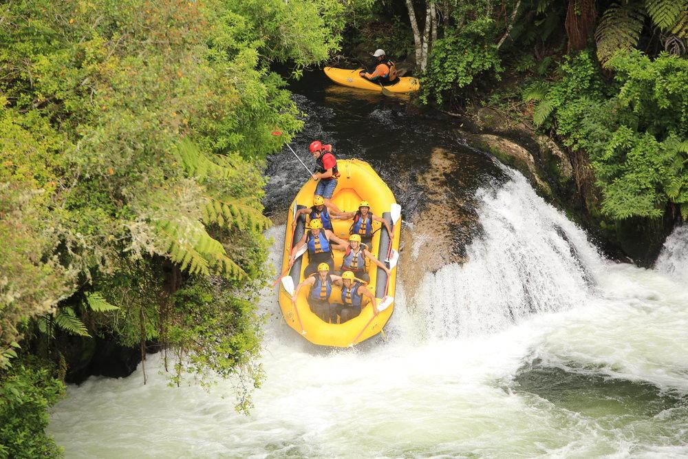 Raft in Rotorua