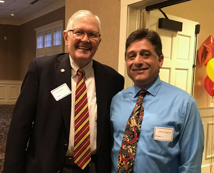 Paul Verret of the Katherine B. Andersen Fund of The Saint Paul Foundation and TLC Board president Jeff Di Gregorio.
