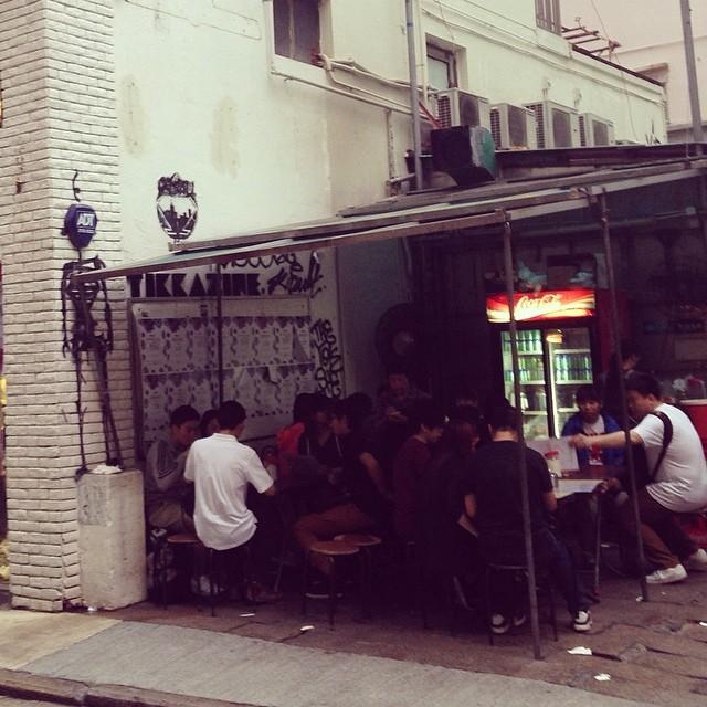 hk streets.   - allie