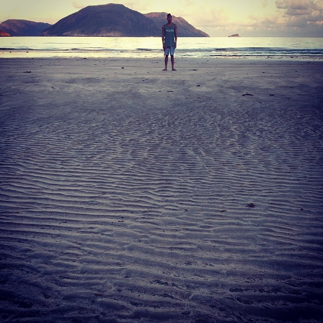 .hi, from the beaches in con dao, just outside our villa.   - allie