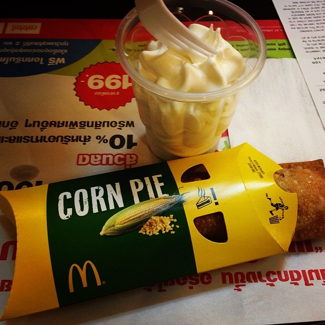 .DELICIOUS. have only seen this at the mcdonald's in thailand.   - allie