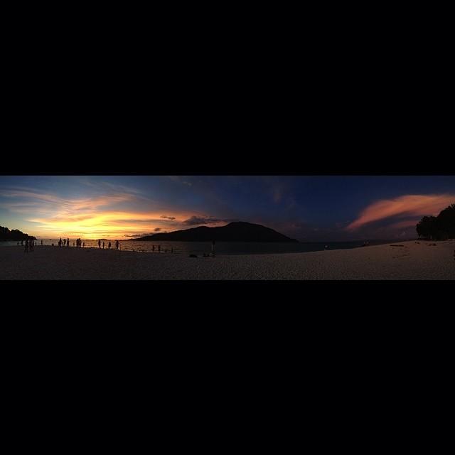 best sunset so far.   - jonathan