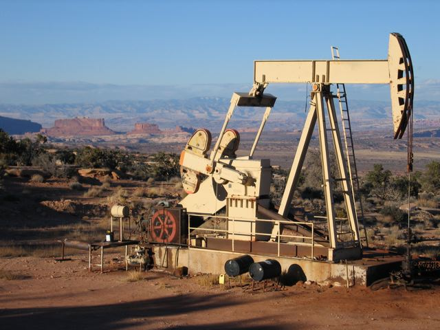 Oil Rigs Grand Canyon