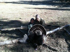 Hunting turkey is a fall tradition for the Trujillos and many other Latino families in the West.