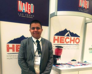 Pedro Lopez, the youngest elected leader in Arizona Visits HECHO at the NALEO conference in Las Vegas.