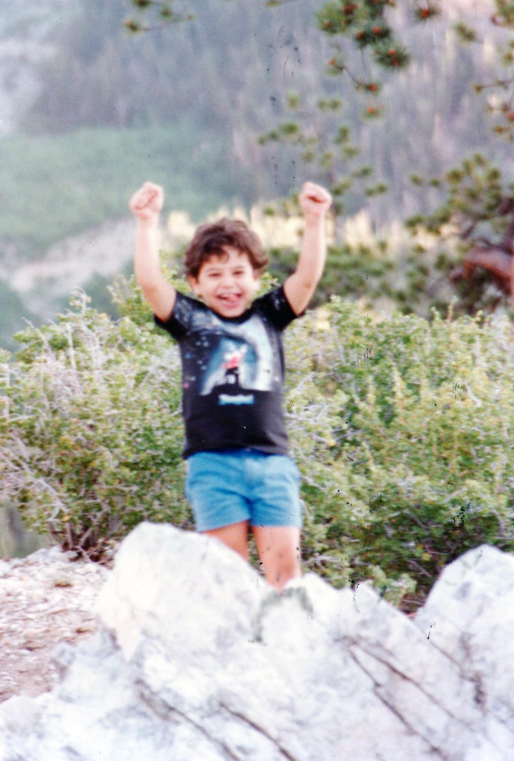 Young Christian at Mt. Charleston