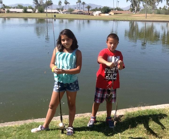 AZ Fishing Day with HECHO | Photo By Liz Archuleta