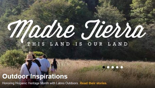 through support from our LCA partner Latino Outdoors, HECHO is featured on Recreation.gov