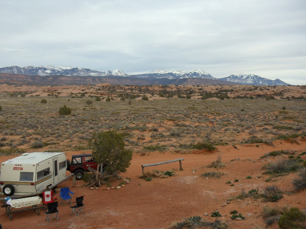 BLM lands near Moab, UT