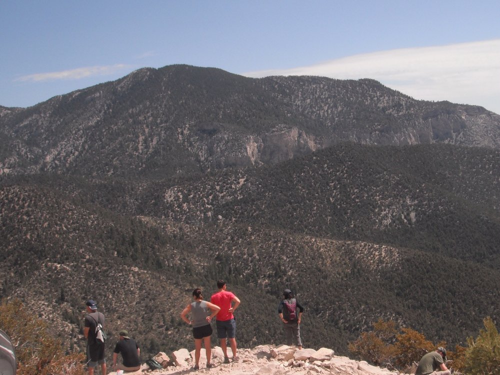 Hiking in Nevada's Cathedral Rock for Latino Conservation Week