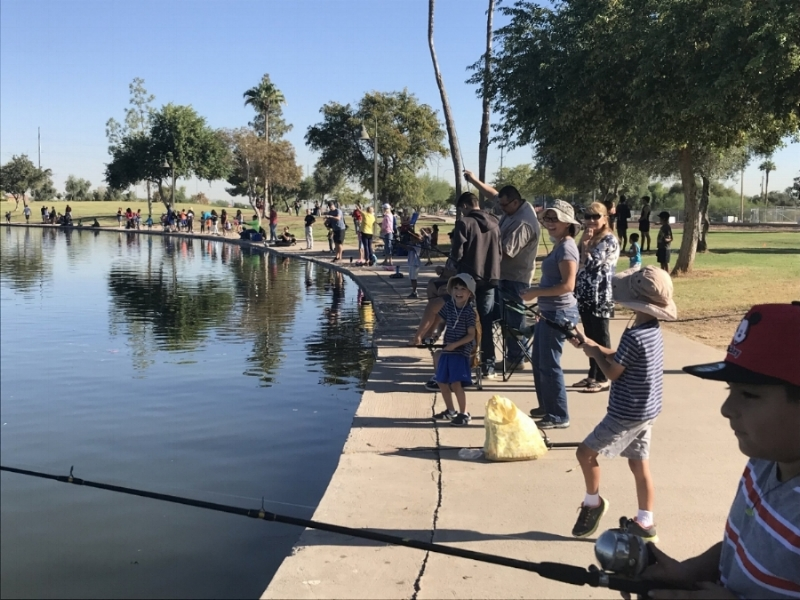 Free Fishing Day in Arizona, October 7, 2017