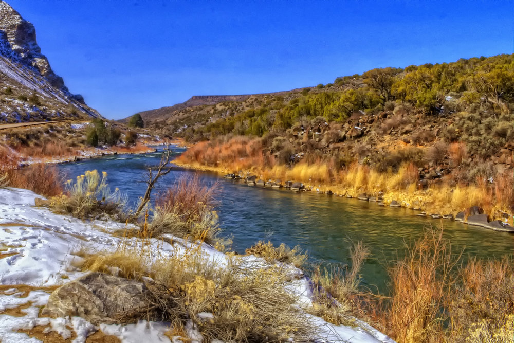 Rio Grande between Taos and Santa Fe | Photo: CC by 2.0 Dave Hensley Flickr
