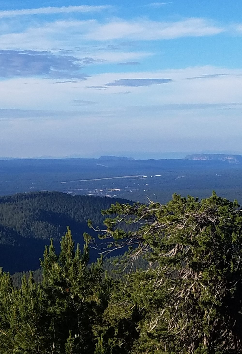 San Francisco Peaks on the Weatherford Trail | July 2018