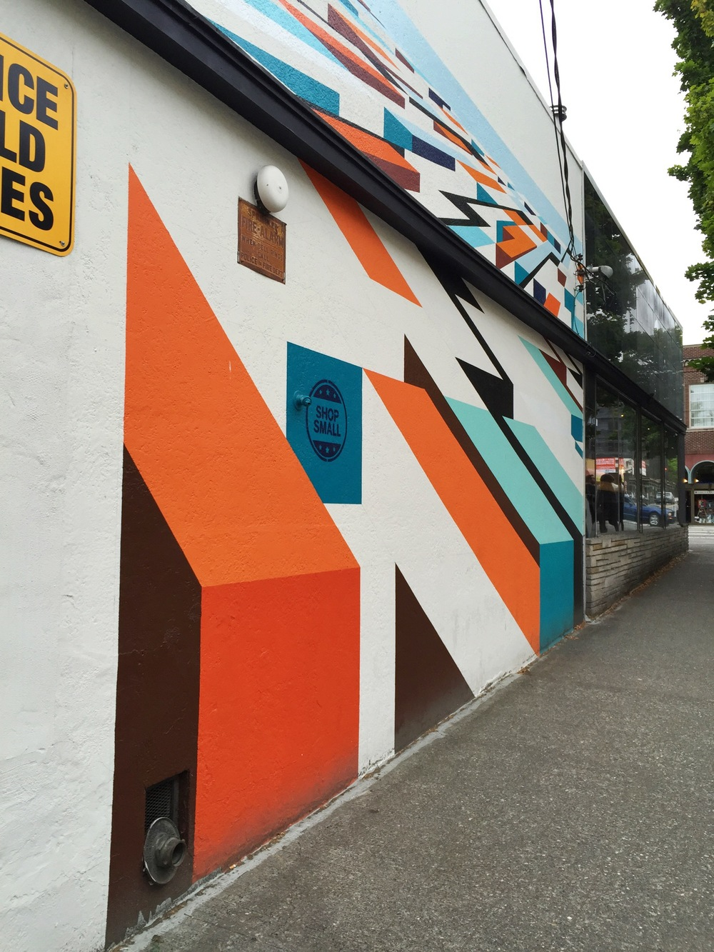 Mural in Ballard