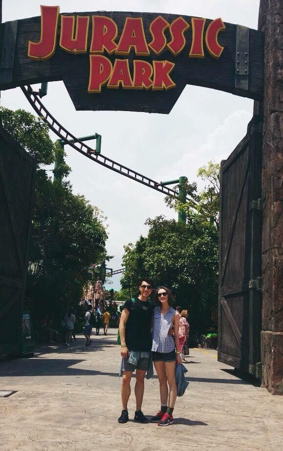 Universal Studios, Singapore.