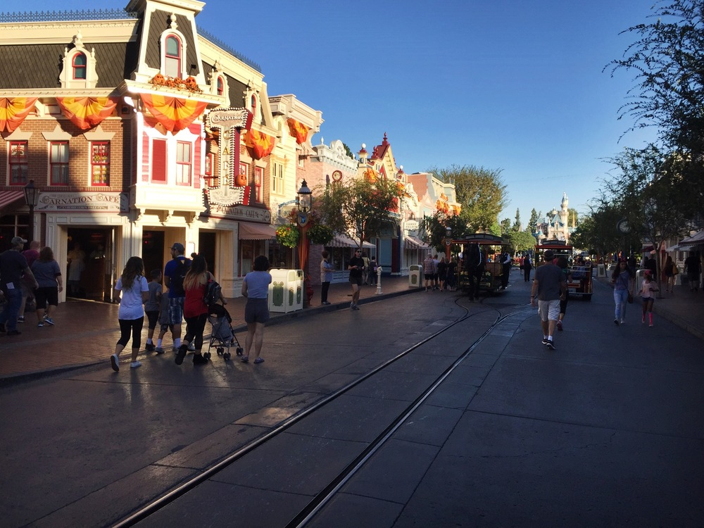Mainstreet at Halloween.