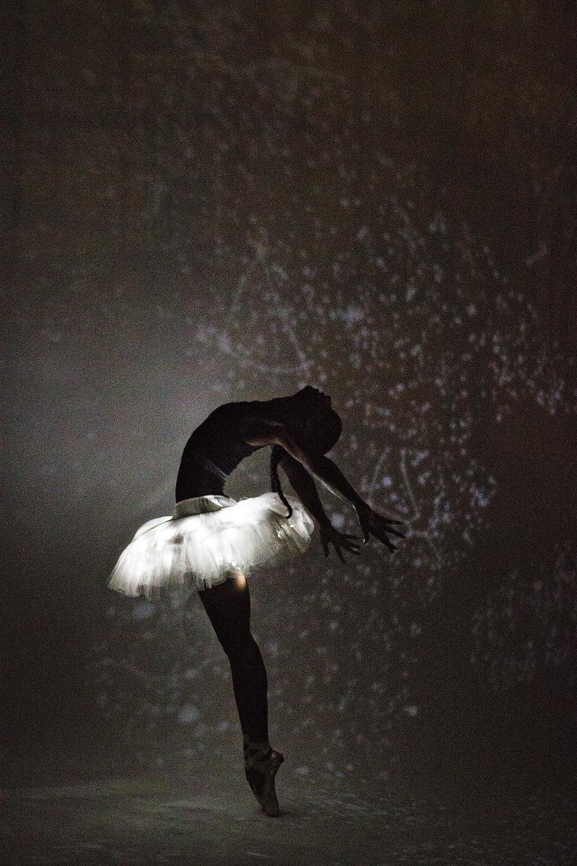 Dancer - Precious Gilbert. Wearing - The Dancewear Project leotard.