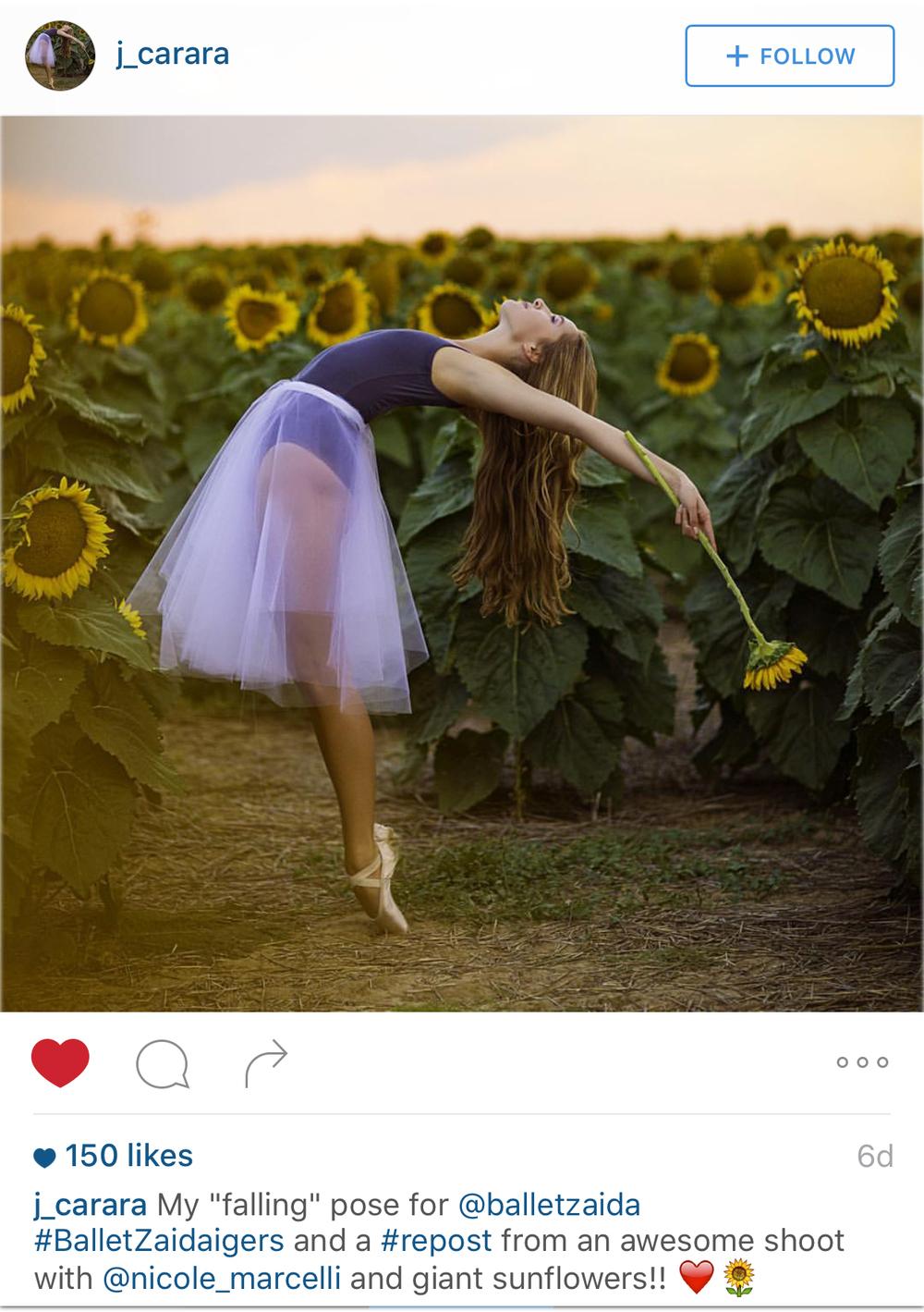 Dancer - @J_Carara Photographer - @Nicole_Marcelli