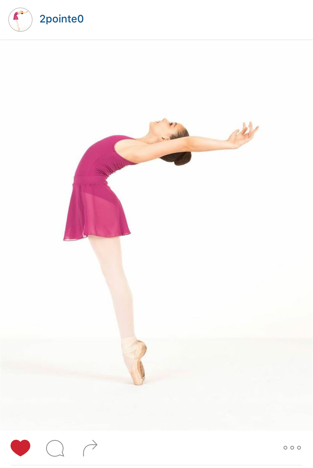 Dancer - @2Pointe0 Photographer - CMYK Photography